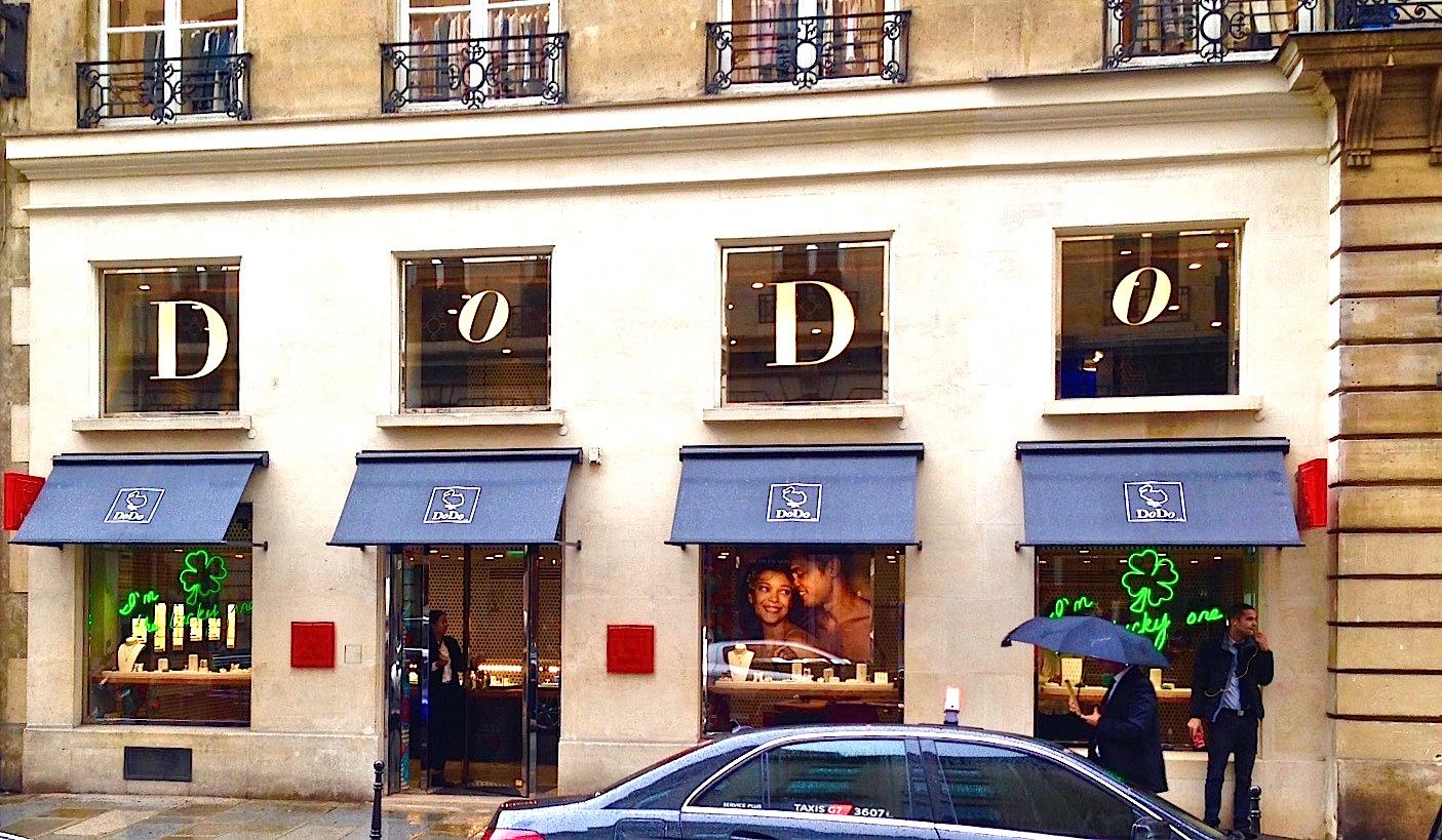 Insegne luminose neon dodo parigi clod srl for Insegne al neon milano