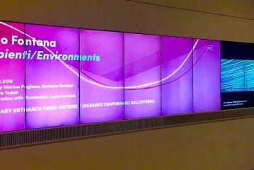 Lucio Fontana Environments