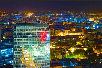 insegne luminose a led Milano
